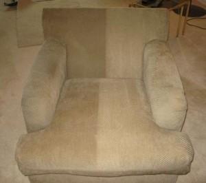 Pranie fotela odkurzaczem Karcher