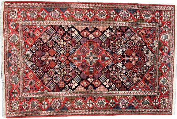 Pranie starego dywanu